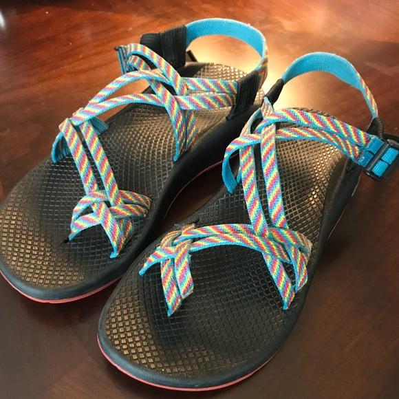 fb49edfe7d7b Chaco Shoes - Chacos Rainbow Vibram Sandals - Women s 9